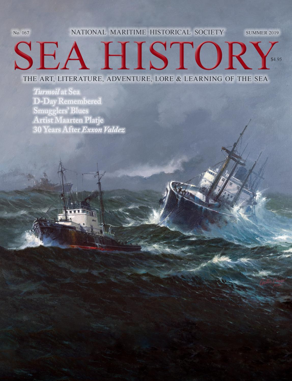 Sea History 167 - Summer 2019 by National Maritime
