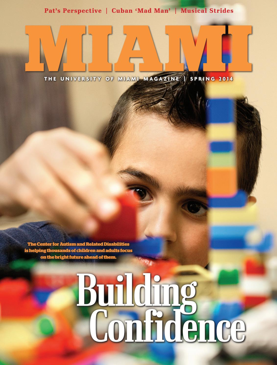 Miami Magazine Spring 2014 By University Of Miami Issuu She can jump with a +5 competence bonus on acrobatics checks. miami magazine spring 2014 by