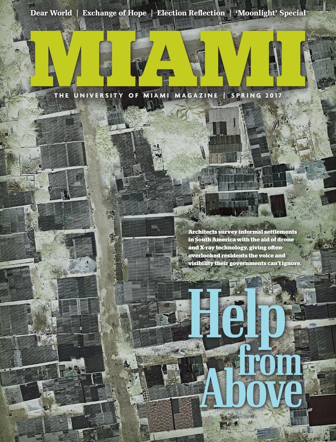 foto de Miami Magazine | Spring 2017 by University of Miami - issuu