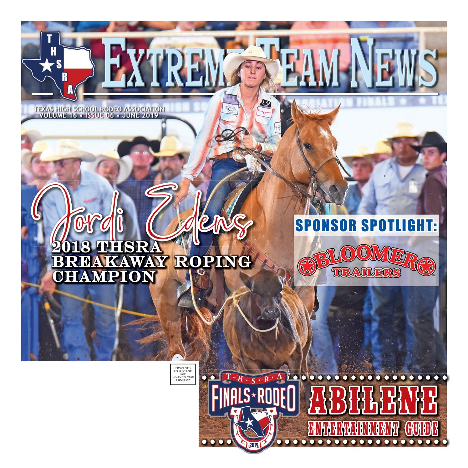 June 2019 Extreme Team News Official News Of Texas High