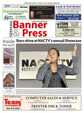 Friday, May 24, 2019 Neepawa Banner & Press by Neepawa
