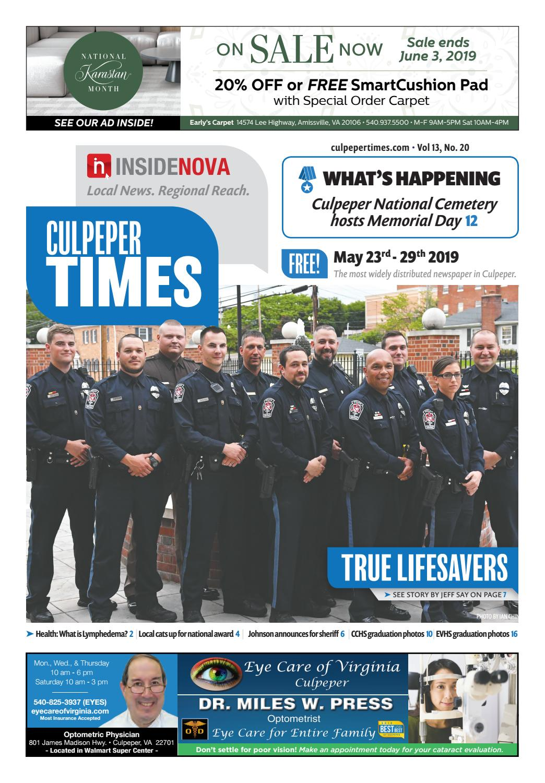 Culpeper Times | May 23-29 by InsideNoVa - issuu