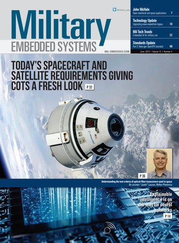 Military Embedded Systems June 2019 by OpenSystems Media - issuu