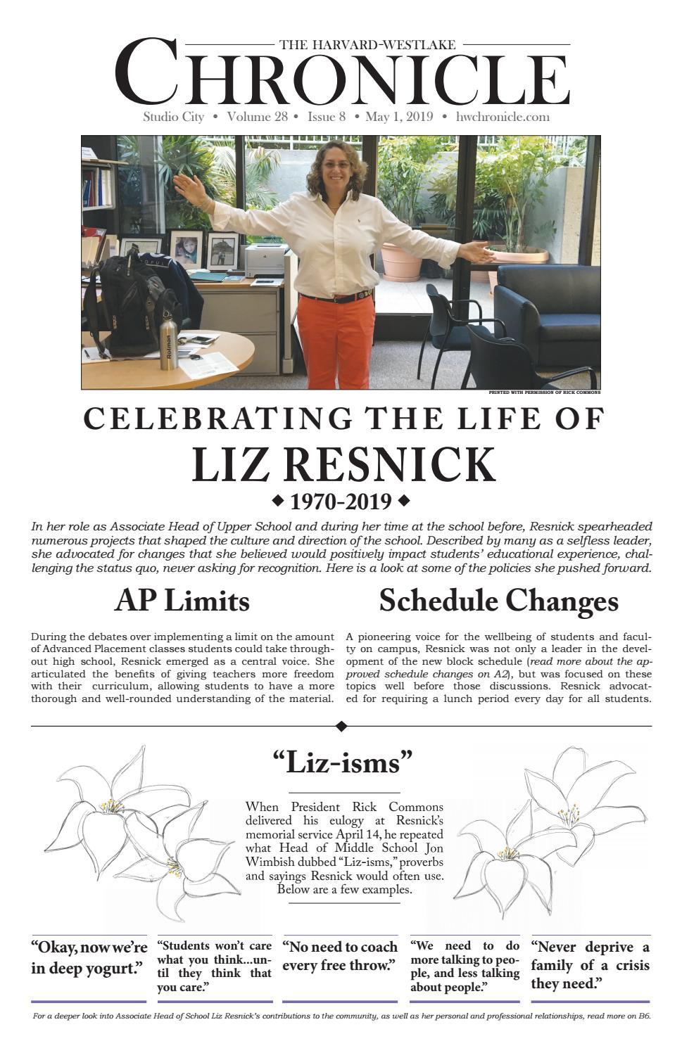 April 2019 Issue by Harvard-Westlake - issuu