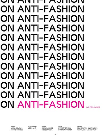 Page 81 of Anti-Fashion