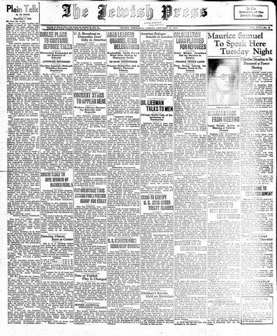 781725fd January 27, 1939 by Jewish Press - issuu