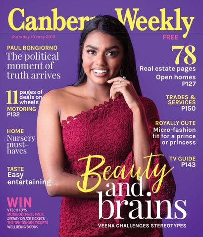 16 May 2019 By Canberra Weekly Magazine Issuu