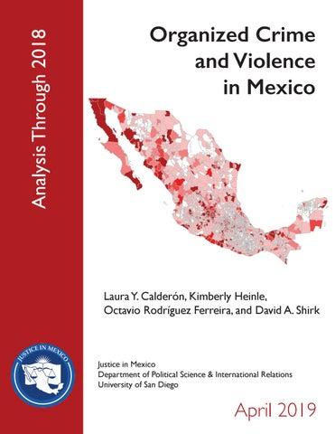 Organized Crime and Justice in Mexico by pajaropolitico - issuu