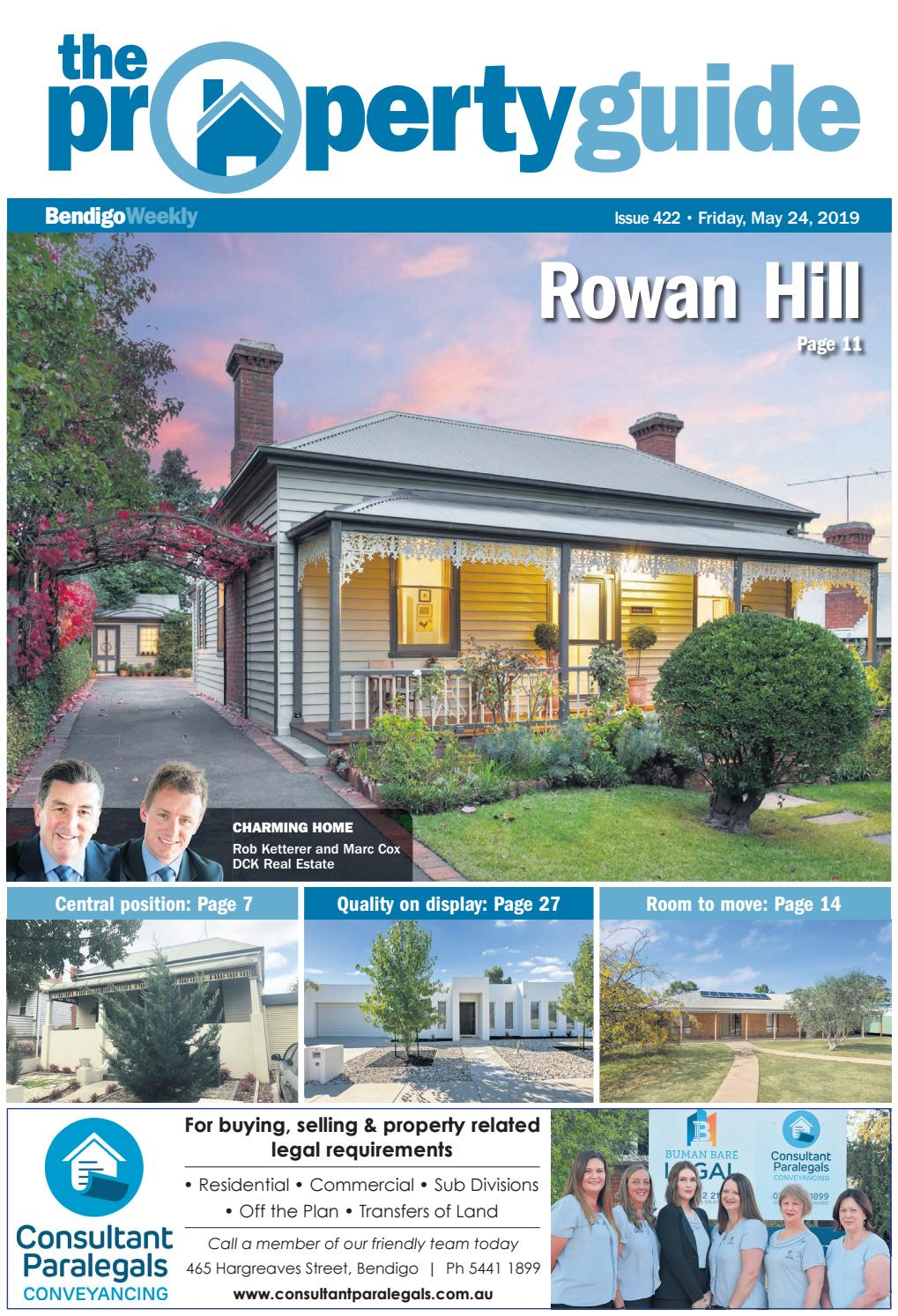 Bendigo Weekly Property Guide 422 by Bendigo Weekly - issuu