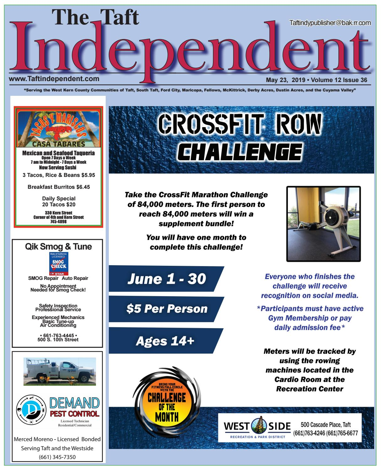 Taft Independent 5-23-19 by Michael Long - issuu