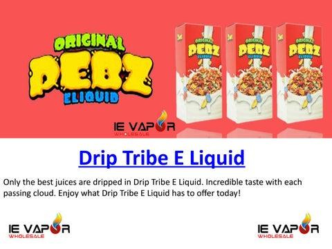 Drip Tribe E Liquid | Wholesale Vape Liquid Supply US by