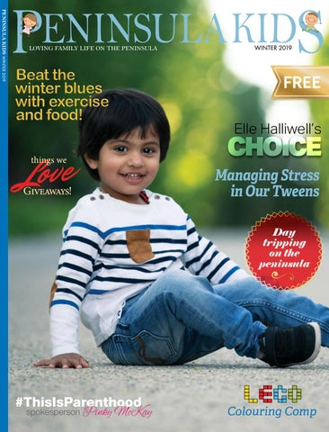 Page 1 of Welcome to the Winter edition of Peninsula Kids magazine