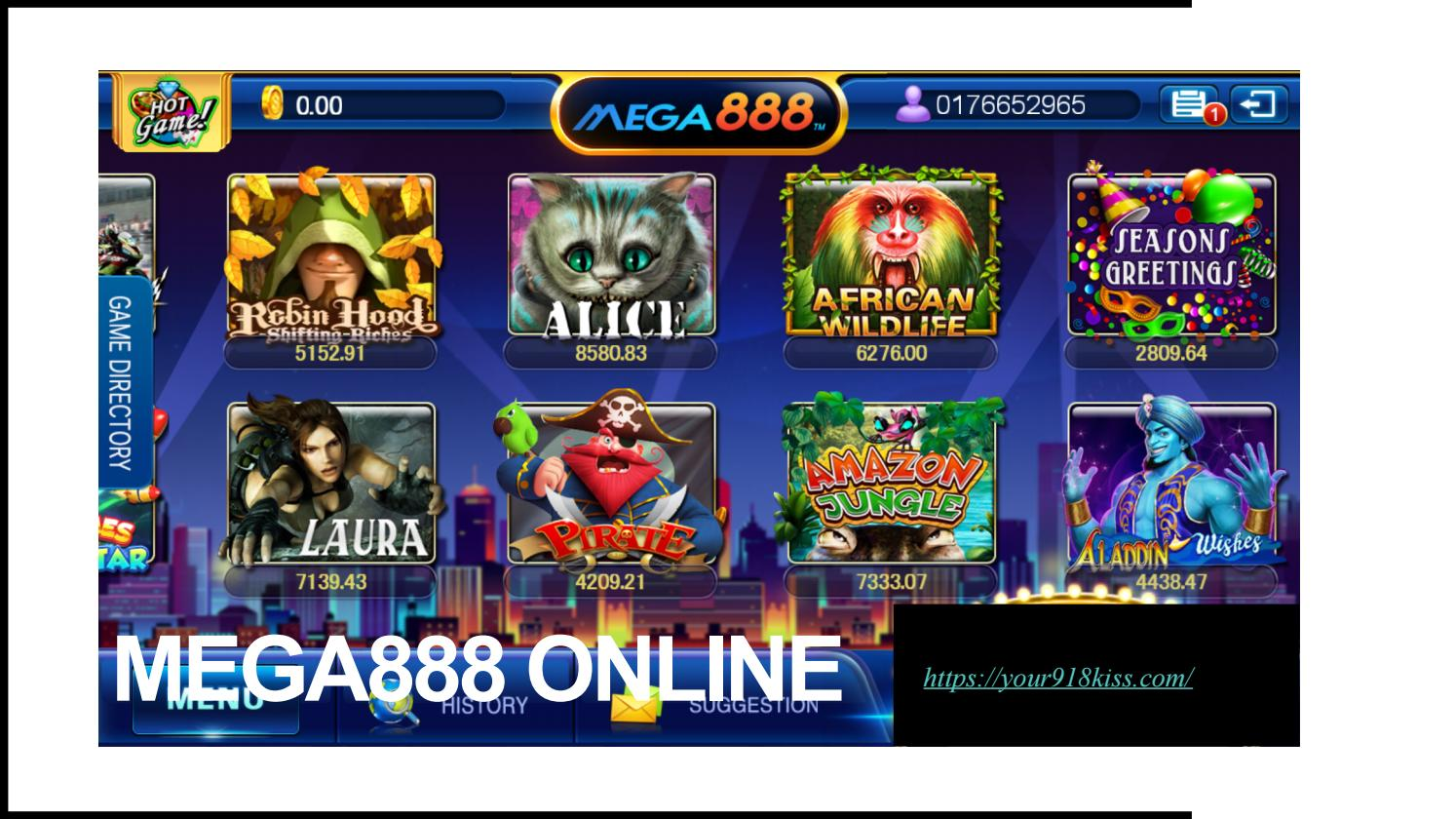 Aladdin Wishes game review on mega888 by Livemobile99
