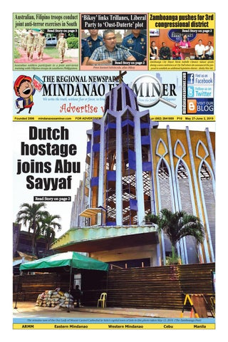 Mindanao Examiner Regional Newspaper (May 27-June 2, 2019) by