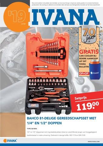 Super IVANA bulletin editie juni 2019 by Ivana - issuu UT-48