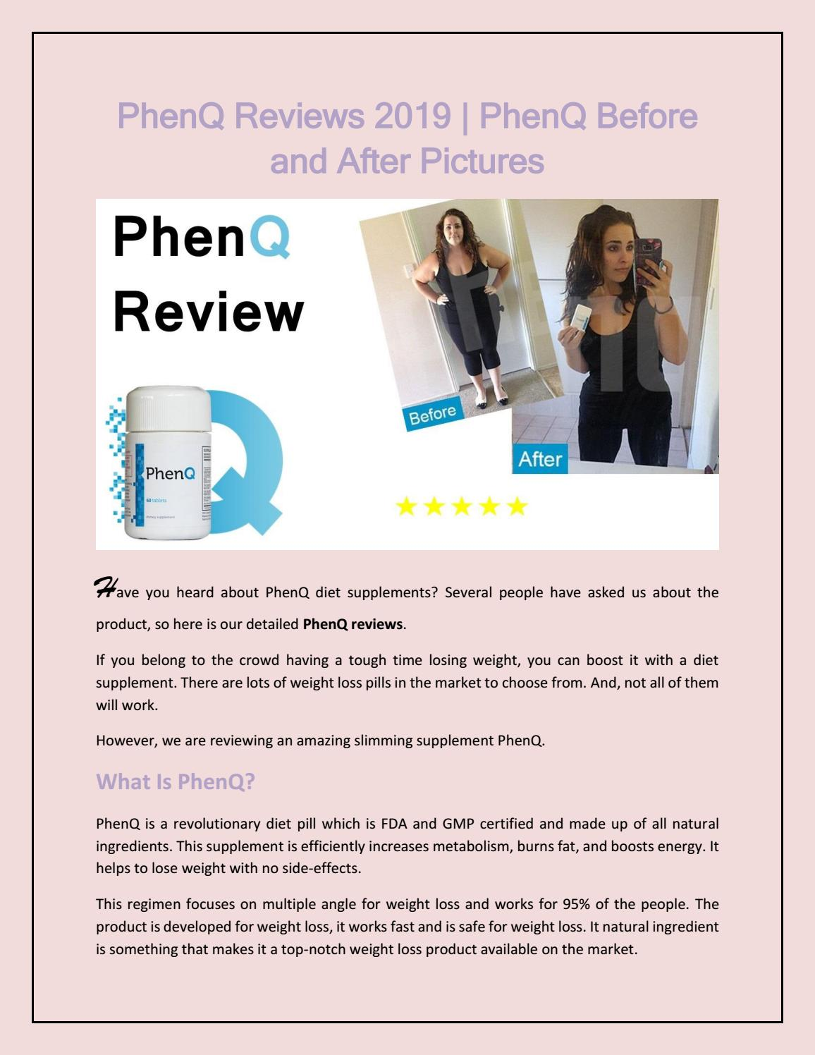 PhenQ Review 2019: Customer Reviews ǀ Before And After