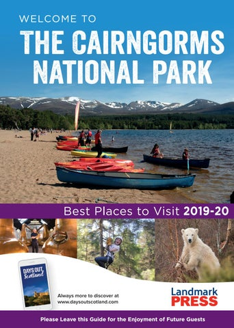 Welcome To The Cairngorms National Park Bedroom Folder 2019