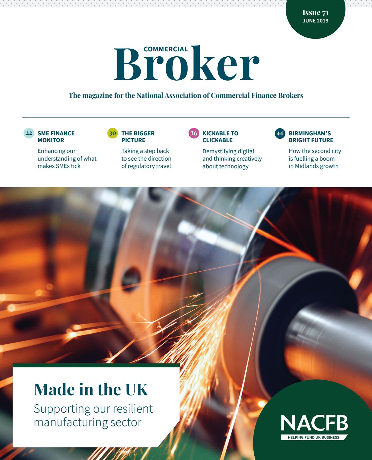 Commercial Broker (NACFB Magazine) June 2019 by NACFB - issuu