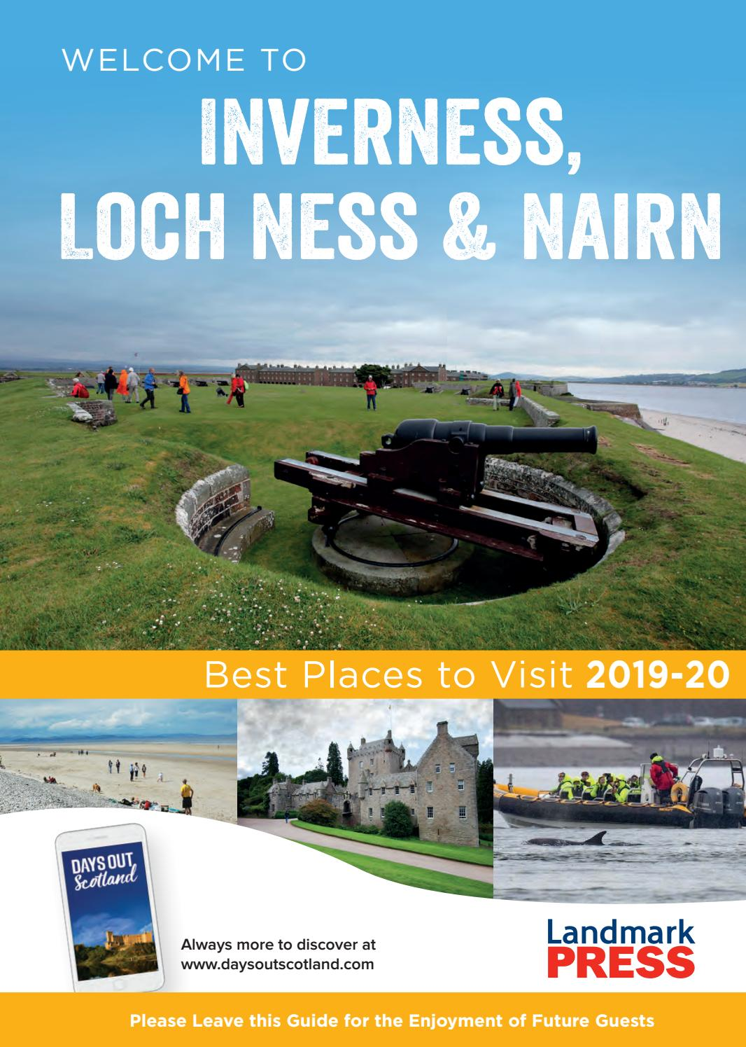 Welcome To Inverness Loch Ness Nairn Bedroom Folder 2019