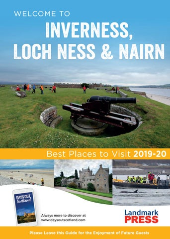 Welcome to Inverness, Loch Ness & Nairn Bedroom Folder 2019