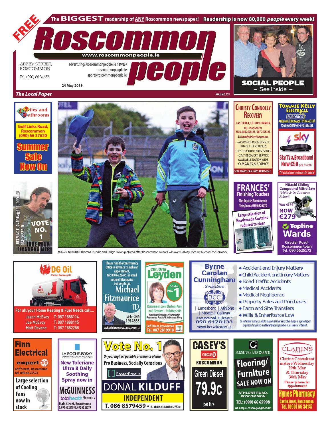 a2cc4ad0 2019.05.24 by Roscommon People - issuu