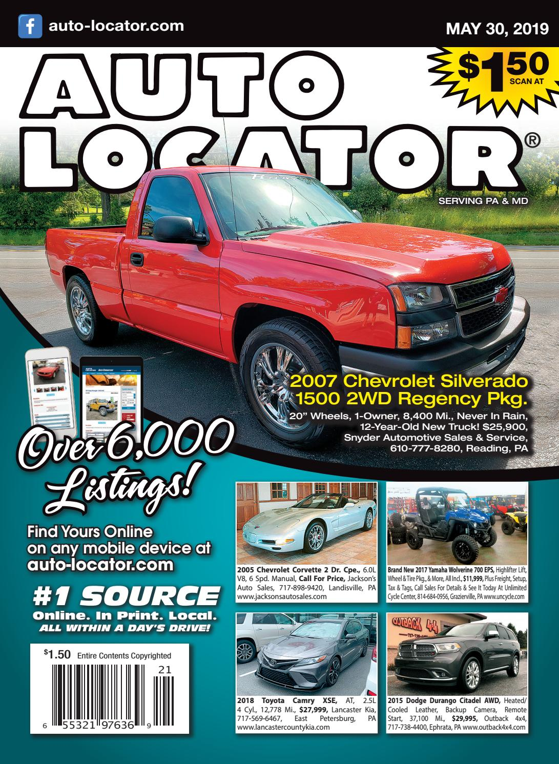 05-30-19 Auto Locator by Auto Locator and Auto Connection - issuu