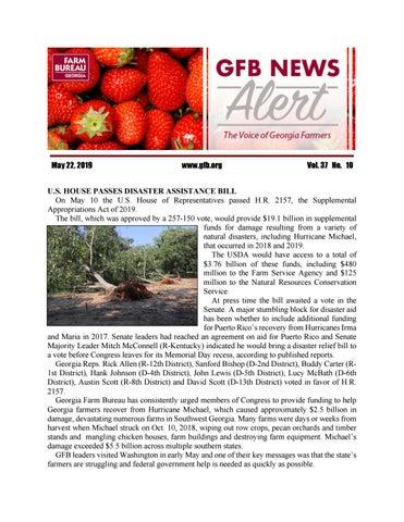 GFB News Alert May 22, 2019 by Georgia Farm Bureau - issuu
