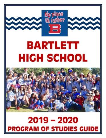 Bartlett High School 2019-2020 Program of Studies Guide
