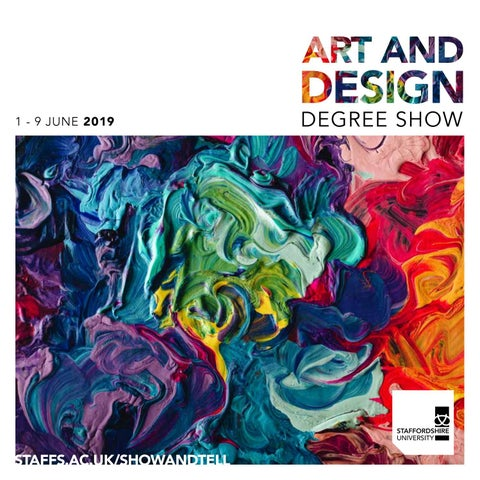 7a61a6f289f Art and Design Degree Show 2019 by Staffordshire University - issuu
