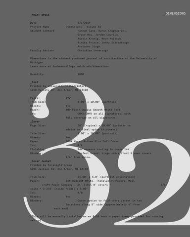 Dimensions 32 by Rinika Prince - issuu