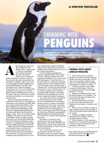 Page 23 of Swimming with Penguins