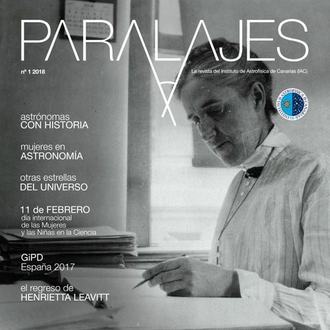 85b7cfea49 PARALAJES n. 1 2018 Mujeres en Astronomía by UC3 - Instituto de ...