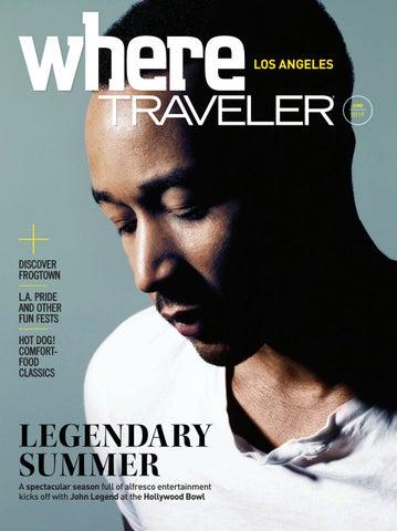 Where Traveler Los Angeles Magazine by California Media
