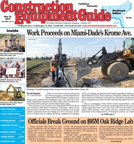 Southeast 11 May 22, 2019 by Construction Equipment Guide