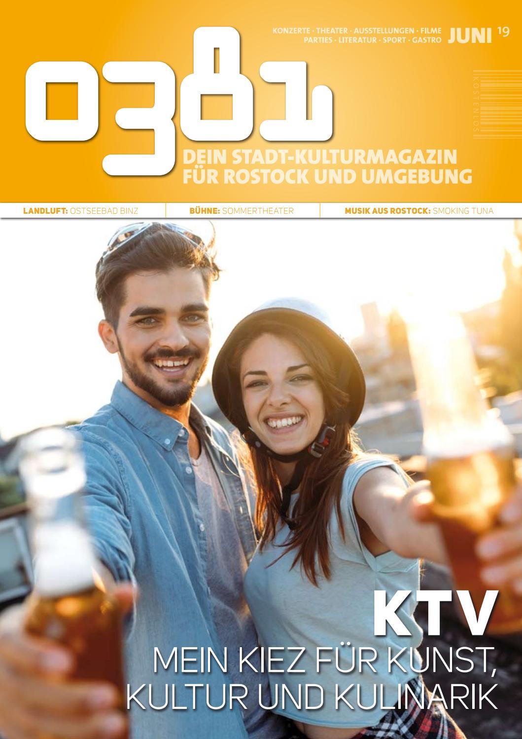 0381 Dein Stadtkulturmagazin Für Rostock Und Umgebung Juni