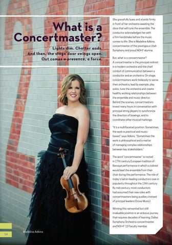 Page 14 of What is a Concertmaster?