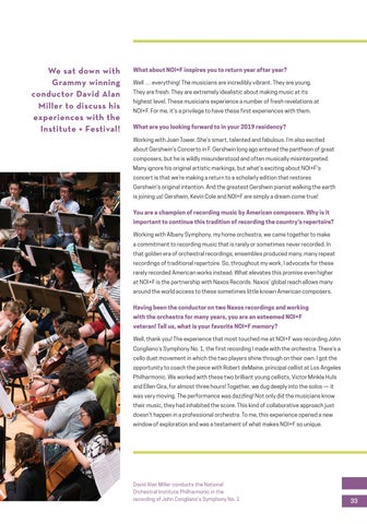 Page 33 of Conductor Chat: David Alan Miller