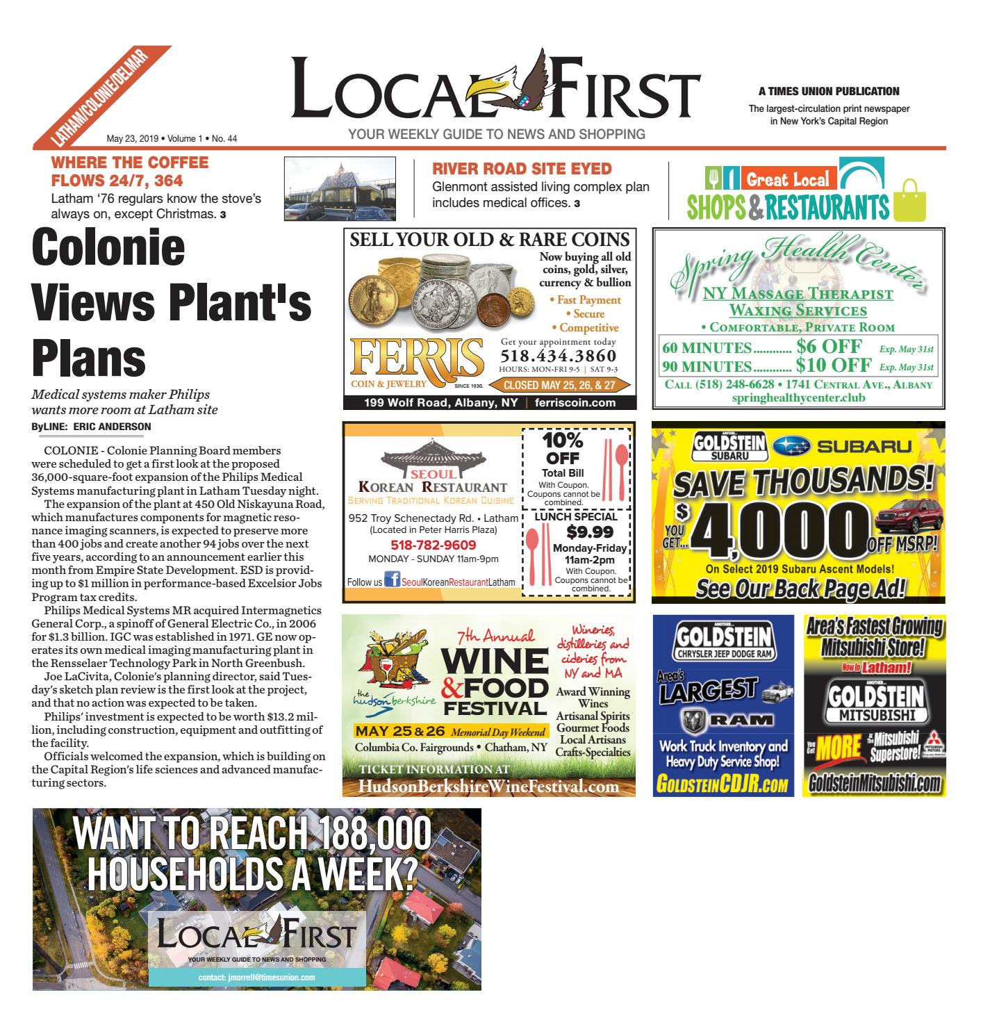 Local First Latham Colonie Delmar 052319 by Capital Region