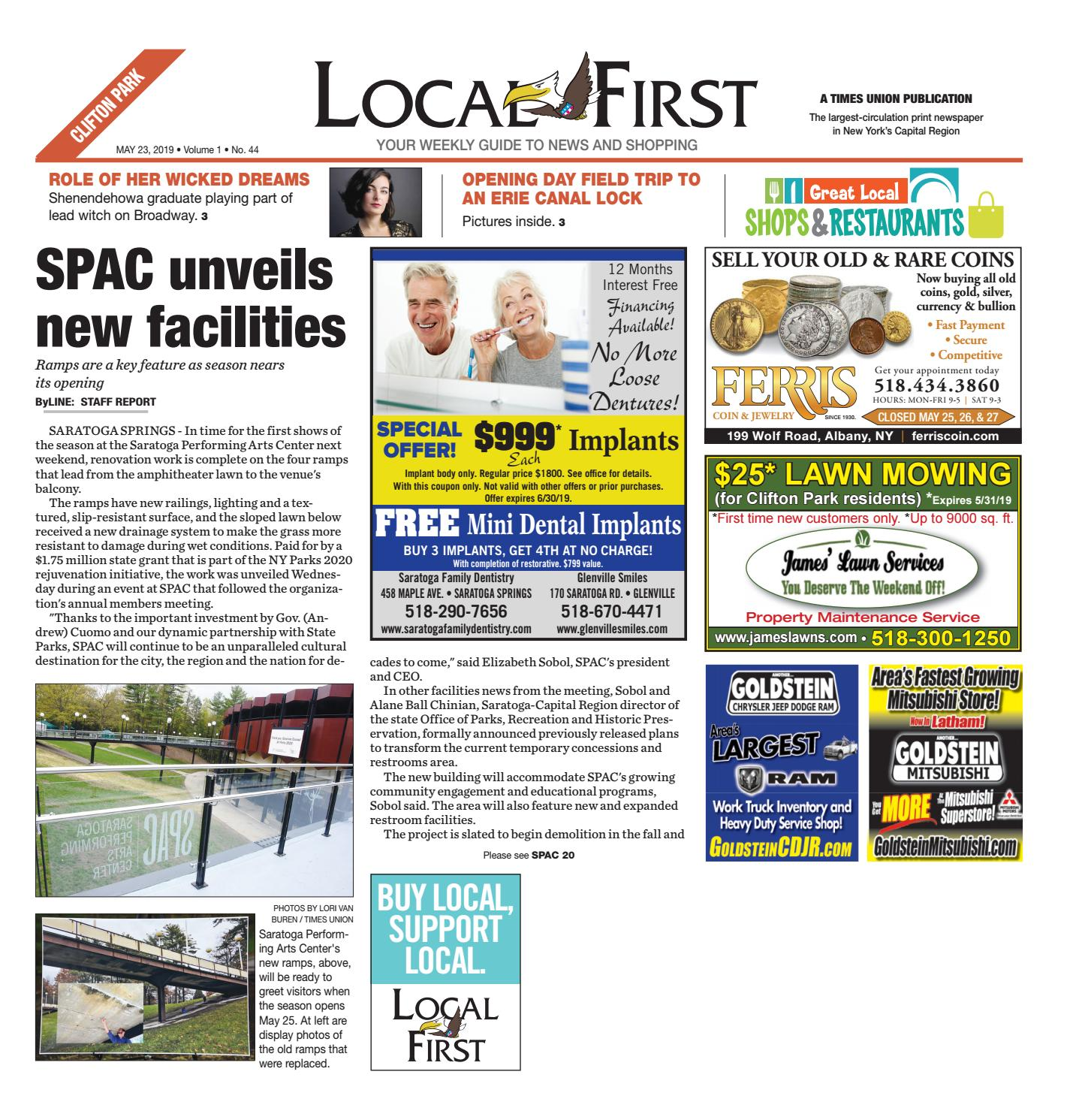 Local First Clifton Park 052319 by Capital Region Weekly