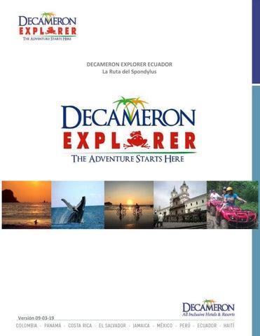 d71d093558 Catálogo decameron explorer Ecuador Español by Hoteles Decameron - issuu