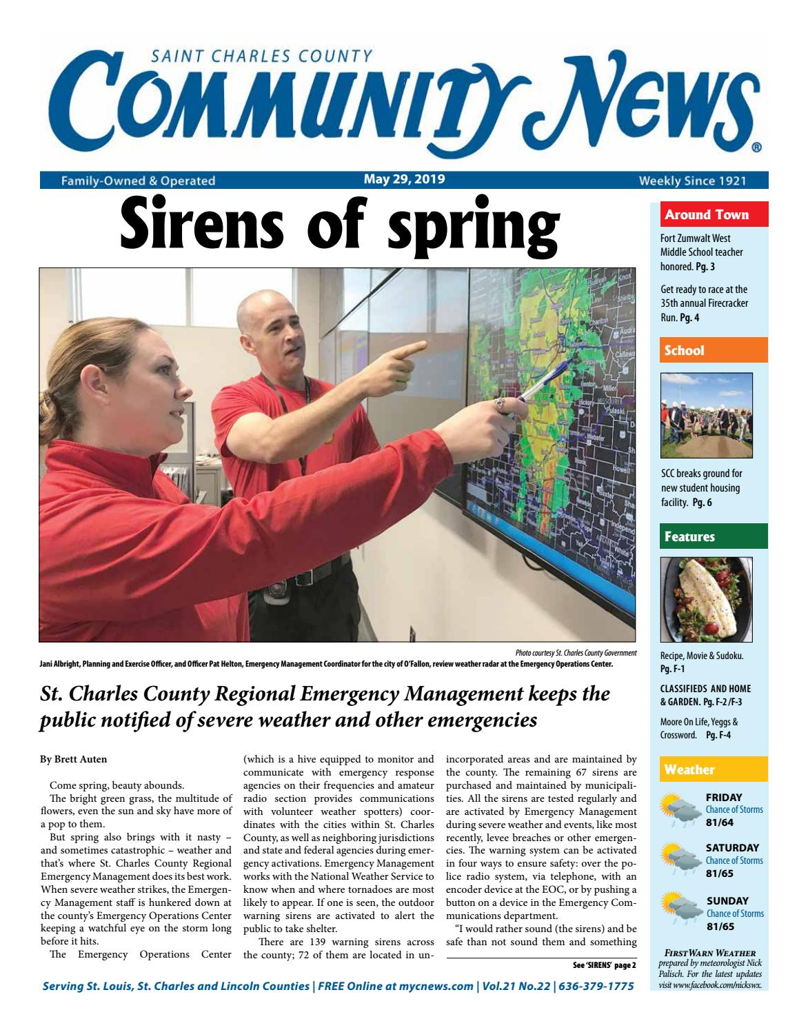 CNSTC: May 29, 2019 by Community News - issuu
