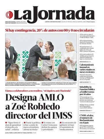 La Jornada 05 23 2019 By La Jornada Issuu