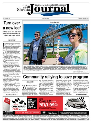 The Sarnia Journal May 23, 2019 by The Sarnia Journal - issuu
