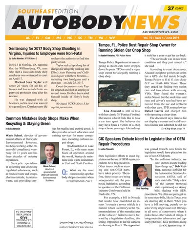 June 2019 Southeast Edition by Autobody News - issuu
