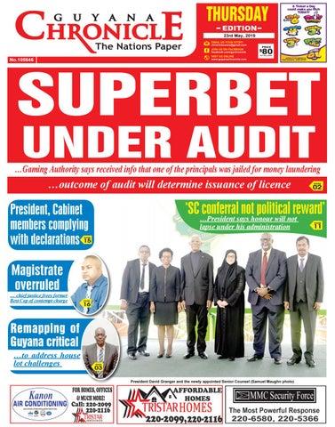 Guyana Chronicle E-paper 23 MAY 2019 by Guyana Chronicle E
