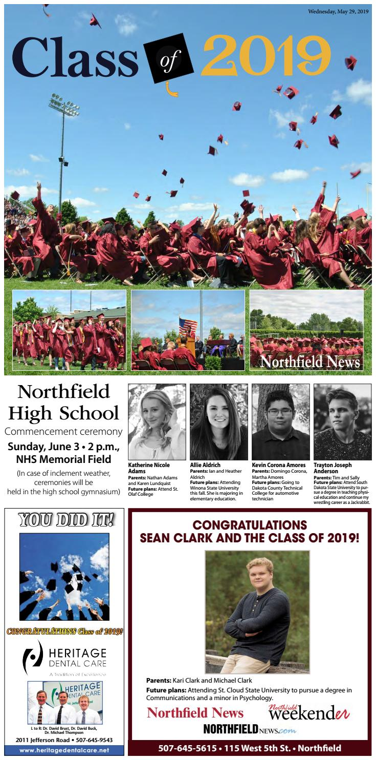 Northfield Area Graduation 2019 by Kate Noet - issuu