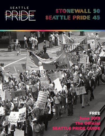 The Official Seattle Pride Guide 2019 by Seattle Pride Guide