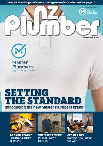 NZ Plumber February-March 2016 by NZ Plumber - issuu