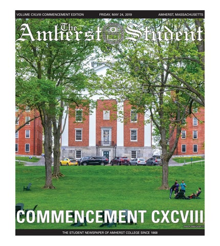 Commencement Issue by The Amherst Student - issuu on