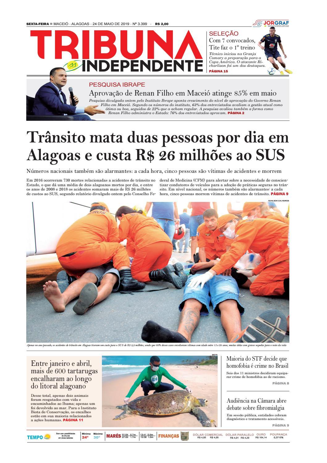 7f596f1f5 Edição número 3399 - 24 de maio de 2019 by Tribuna Hoje - issuu